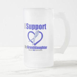ALS Awareness I Support My Granddaughter Mug