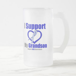ALS Awareness I Support My Grandson Mugs