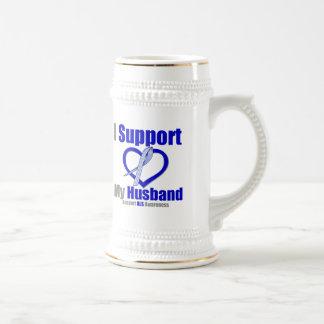 ALS Awareness I Support My Husband Coffee Mugs