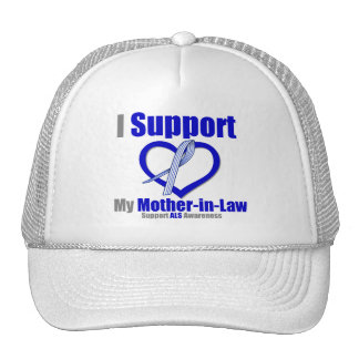 ALS Awareness I Support My Mother-in-Law Trucker Hat