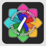 ALS Awareness Matters Petals Stickers