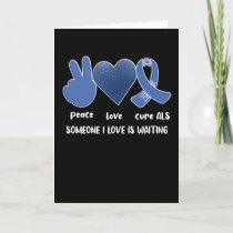 ALS Awareness Month Amyotrophic Lateral Sclerosis Card