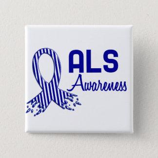 ALS Awareness Pinback Button