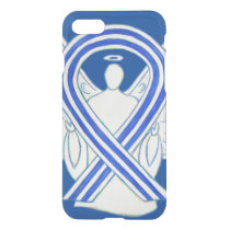 ALS Awareness Ribbon Angel Custom iPhone 7 Case