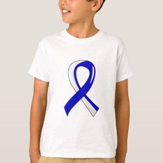 ALS Blue White Ribbon 3 T-Shirt