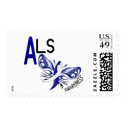 ALS BUTTERFLY 3.1 POSTAGE STAMP