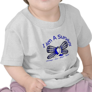 ALS Butterfly I Am A Survivor Tshirt