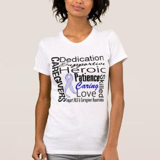 ALS Caregivers Collage Tshirts