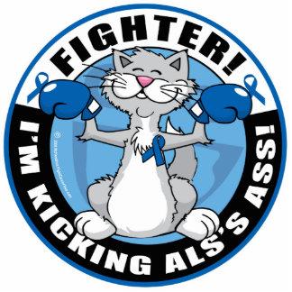 ALS Cat Fighter Statuette