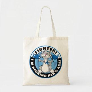 ALS Cat Fighter Tote Bag