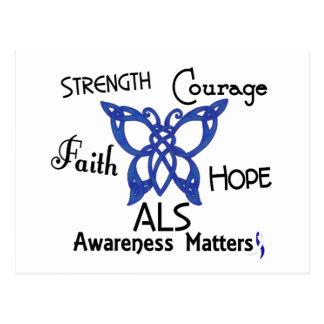 ALS Celtic Butterfly 3 Postcard