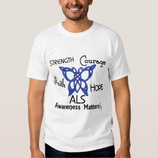 ALS Celtic Butterfly 3 T-Shirt