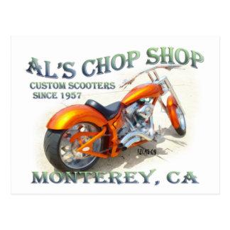 Al's Chop Shop Postcard