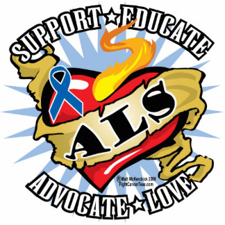 ALS Classic Heart Photo Cutout