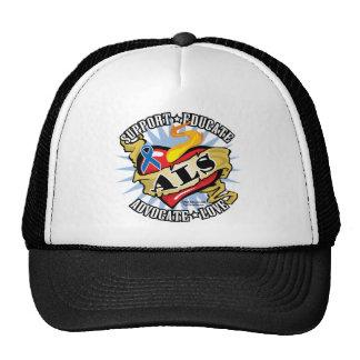 ALS Classic Heart Trucker Hat