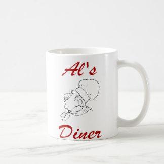 Al's Diner Classic White Coffee Mug