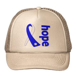 ALS  Disease Hope Ribbon Trucker Hat