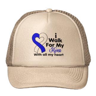 ALS Disease I Walk For My Hero 2 Trucker Hat