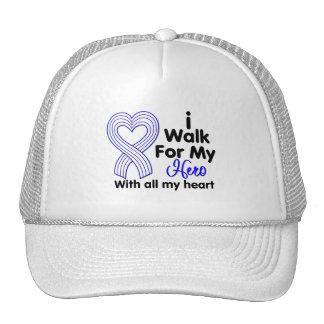 ALS Disease I Walk For My Hero Trucker Hat