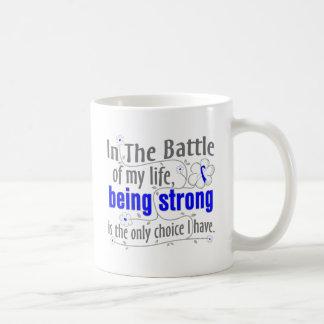 ALS Disease In The Battle Classic White Coffee Mug