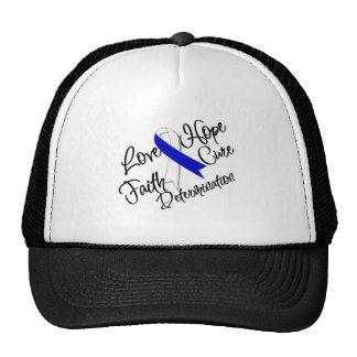 ALS Disease Love Hope Determination Trucker Hat