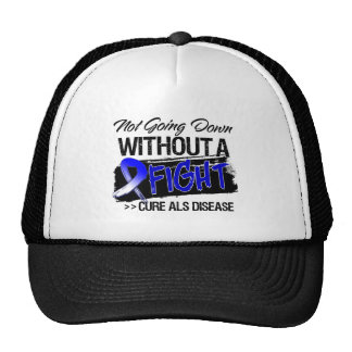 ALS Disease Not Going Down Without a Fight Trucker Hat