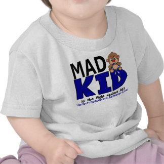 ALS enojado del niño Camiseta