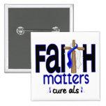 ALS Faith Matters Cross 1 Buttons