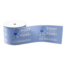 "ALS: Fight for the Cure 3"" Grosgrain Ribbon"