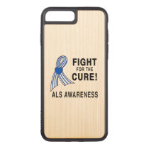 ALS: Fight for the Cure Carved iPhone 7 Plus Case