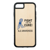 ALS: Fight for the Cure Carved iPhone 8/7 Case