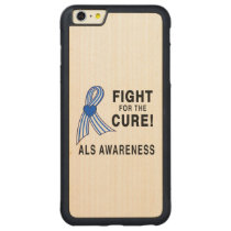 ALS: Fight for the Cure Carved Maple iPhone 6 Plus Bumper Case