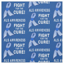 ALS: Fight for the Cure! Fabric