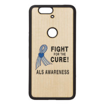 ALS: Fight for the Cure Wood Nexus 6P Case