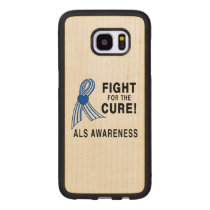 ALS: Fight for the Cure Wood Samsung Galaxy S7 Edge Case