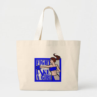 ALS Fight Like A Girl Boxer Canvas Bag