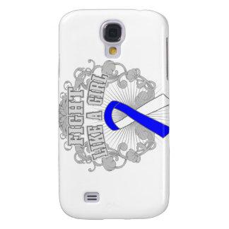 ALS Fight Like A Girl Fleurish Galaxy S4 Case