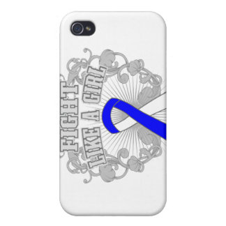 ALS Fight Like A Girl Fleurish Cover For iPhone 4