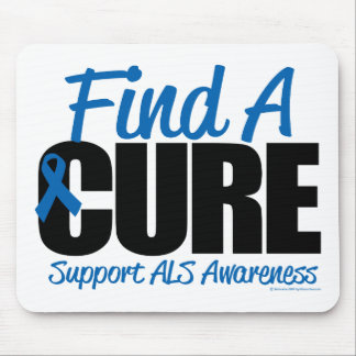 ALS Find A Cure Mouse Pad