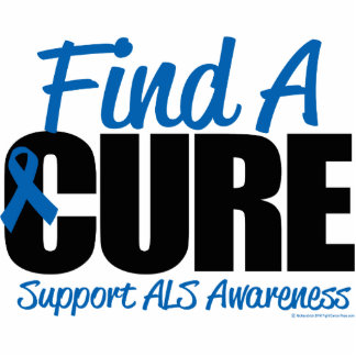 ALS Find A Cure Acrylic Cut Out
