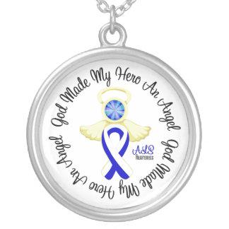 ALS God Made My Hero An Angel Pendant