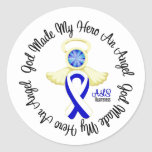ALS God Made My Hero An Angel Stickers