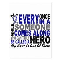 ALS Hero Comes Along 1 Aunt Postcard