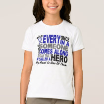 ALS Hero Comes Along 1 Aunt T-Shirt