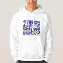 ALS Hero Comes Along 1 Brother Hoodie