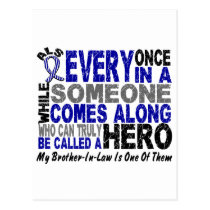 ALS Hero Comes Along 1 Brother-In-Law Postcard