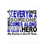 ALS Hero Comes Along 1 Daddy Post Card