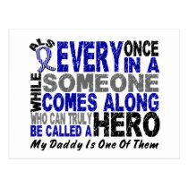 ALS Hero Comes Along 1 Daddy Postcard