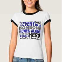 ALS Hero Comes Along 1 Daughter T-Shirt