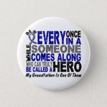 ALS Hero Comes Along 1 Grandfather Button